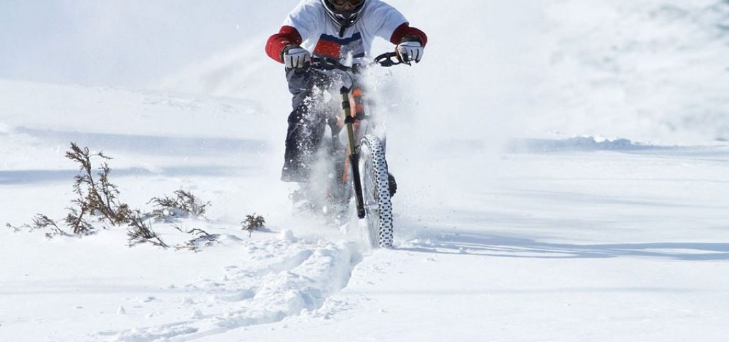 Cycling during the winter